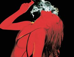 Image discovered by Fifi Perkins. Find images and videos about red and smoke on We Heart It - the app to get lost in what you love. Red Aesthetic, Aesthetic Pictures, Devil Aesthetic, Techno, Foto Art, The Villain, Cara Delevingne, Pose Reference, Art Inspo