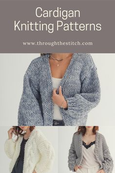Browse our large collection of cardigan knitting patterns of all abilities and styles. Fast and affordable downloads. Cardigan Pattern, Chloe, Knitting Patterns, Men Sweater, Pullover, Stitch, Coat, Sweaters, Collection
