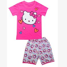 Hello Kitty Clothing Set //Price: $14.99 & FREE Shipping // World of Hello Kitty http://worldofhellokitty.com/hello-kitty-children-clothes-suits-girl-pajamas-sets-baby-girls-sport-suit-100-cotton/    #collectibles