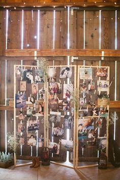 rustic country barn wedding photo display ideas / www.wedding timing of day;wedding timing line; Trendy Wedding, Fall Wedding, Dream Wedding, Wedding Ceremony, Wedding Table, Snow Wedding, Love Story Wedding, Temple Wedding, Wedding Chairs