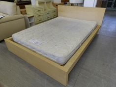 Double Bed Frame And Mattress Local Delivery Service Available --- Good Condition £65 (PC978)