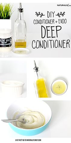 DIY Olive Oil Deep Conditioner | Video