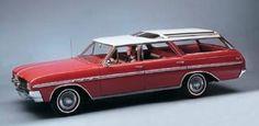 Buick skylark wagon Vista roof