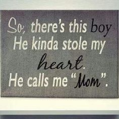 i love my son<3 Now that you messed with this young mans head - what do I tell him. You never took that poor boys feelings into consideration! How dare you. I will do EVERYTHING I can to protect him from people like you and to teach him best I can to not be a man like you. Don't mess with MY family! Tired of hearing how I'm messing yours! Grow up!