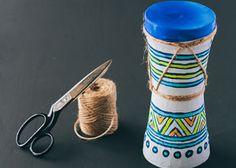 Kids Craft: Make your own African drum!