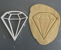 3D Printed Diamond Cookie Cutter