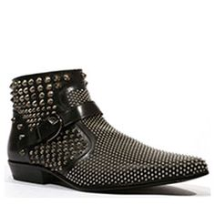 4ebda155bf57 Cesare Paciotti Men s Studded Baby Lux Black Boots (CPM5338) · Baby  LuxBrown LoafersMens ...