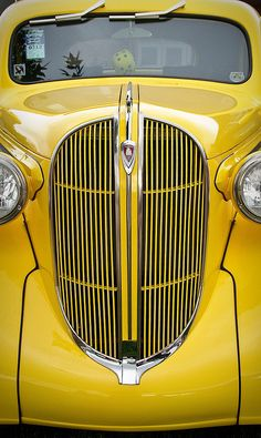 1938 Plymouth Front End by William Horton Photography, via Flickr