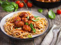 Paradicsomos húsgombóc olasz módra