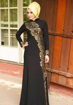 New Styles Of Designer Abayas & Gowns 2016-2017 | BestStylo.com
