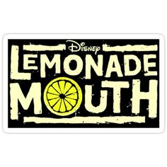 Buy 'Lemonade Mouth Sticker' by Sarah C as a Sticker, Transparent Sticker, or Glossy Sticker Disney Channel Movies, Disney Channel Original, Cool Stickers, Laptop Stickers, Lemonade Mouth, Vinyl Record Art, Old Disney, Team Pictures, Transparent Stickers