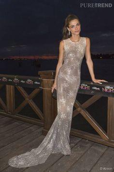 Une robe argentée délicate !!!