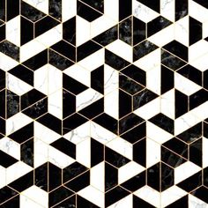 Marble tiles with brass inlay