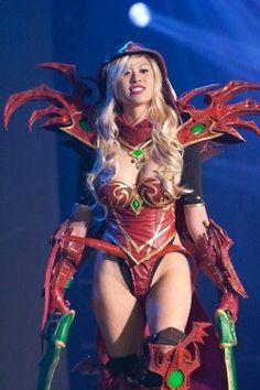 Sanguinar cosplay valeera