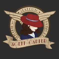 Lady of the S.S.R || Peggy Carter || by shelbywolf || WeLoveFine Agent Carter T-Shirt Contest || #fanart