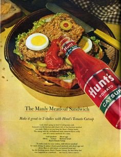The Manly Meatloaf Sandwich(1963)