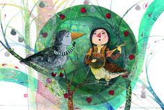 ilustración de Samaneh Rahbarnia