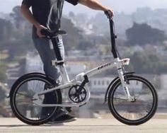 Bicicleta plegable decathlon btwin Tilt Blanca