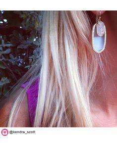 Dayton Earrings in Slate Ice - Kendra Scott Jewelry. Available October 16, 2013.