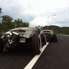 #Volkswagen #custom #chopped #volksrod #harleydavidson #vw