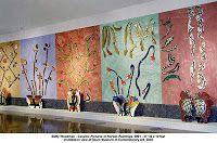 Betty Woodman - Ceramic pictures of Korean paintings - 2002