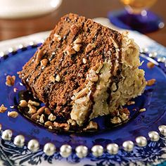 german-chocolate pound cake