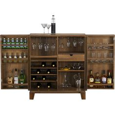 Marin Bar Cabinet in 15% off Bar Carts and Bar Cabinets | Crate and Barrel