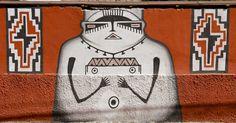 Mural Diaguitas My Ancestors, Chile, Tribal Art, Folk Art, Past, Mexico, Pottery, Ceramics, Street