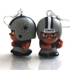 Dallas Cowboys Football Earrings