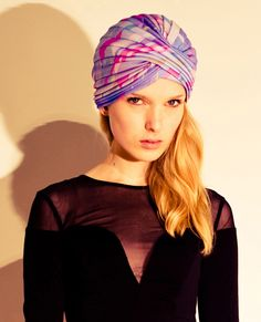 I am absolutely obsessed with turbans - I have been since '09 Prada