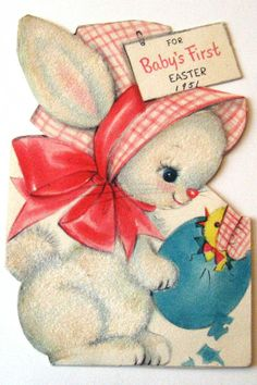 Vintage EASTER Card  _____________________________ Photos combined by Dr. Veronica Lee, DNP (Depew/Buffalo, NY, US)