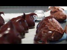 Recette des truffes au chocolat.
