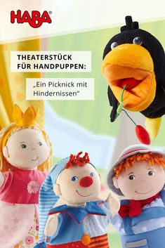 Hånddukketeater: en picnic med forhindringer - Lilly is Love Glove Puppets, Felt Puppets, Puppets For Kids, Puppet Toys, Puppet Crafts, Dog Crafts, Finger Puppets, Cheshire Cat Cosplay, Animal Hand Puppets