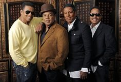 Jackie Jackson, Tito Jackson, Jermaine Jackson and Marlon Jackson Jackie Jackson, Tito Jackson, The Jackson Five, Jackson Family, Michael Jackson, Jermaine Jackson, Willow And Jaden Smith, Famous Sisters, National Sibling Day