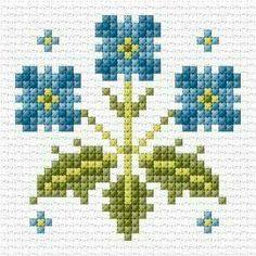 Brilliant Cross Stitch Embroidery Tips Ideas. Mesmerizing Cross Stitch Embroidery Tips Ideas. Tiny Cross Stitch, Cross Stitch Borders, Cross Stitch Flowers, Cross Stitch Designs, Cross Stitching, Cross Stitch Embroidery, Embroidery Patterns, Cross Stitch Patterns, Flower Embroidery