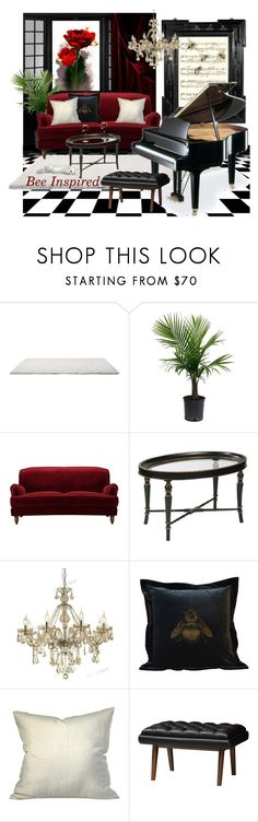 """Music to my ears . . ."" by neicy-i ❤ liked on Polyvore featuring interior, interiors, interior design, home, home decor, interior decorating, Linda Horn, Hekman, Timorous Beasties and Baxton Studio"
