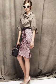 Nina Ricci Resort 2012 Fashion Show - Josephine Skriver