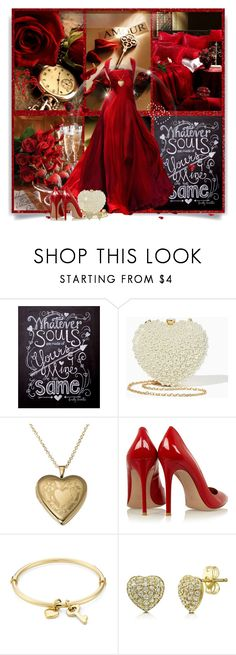 """""""Valentines Day"""" by wendyfer on Polyvore featuring Elie Saab, Gianvito Rossi, Marc by Marc Jacobs and BERRICLE"""