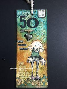 Claudine's Art Corner: Stampotique Challenge 213 - Milestone Celebrations