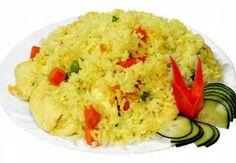 Rýže s kari na smetaně Mashed Potatoes, Grains, Ethnic Recipes, Food, Kochen, Whipped Potatoes, Meal, Essen, Korn