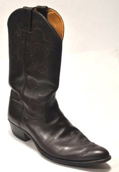 JUSTIN Men s Brown Leather Western Cowboy Boots Size 13 C   59.95 End Date   Friday dbe49d7115