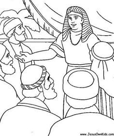 Joseph supervises the gathering and distribution of grain ...
