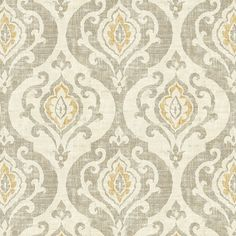 Arryanna Taupe Fabric by the Yard - Ballard Designs Fabric Rug, Floral Fabric, Fabric Decor, Blue Fabric, Antelope Rug, French Country Decorating, Country French, French Decor, Free Fabric Swatches