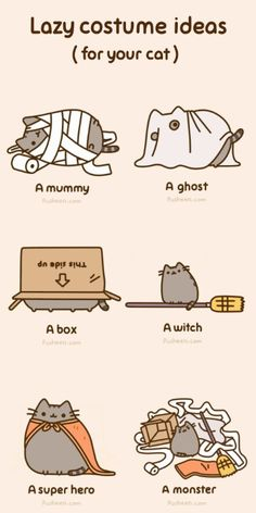 Tagged with comics, gifs, pusheen, lol; Shared by Pusheen and comics for life Chat Pusheen, Pusheen Love, Pusheen Stuff, Cute Cats, Funny Cats, I Love Cats, Cats Humor, Funny Horses, Adorable Kittens