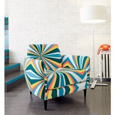 Apartment Therapy: Add Color Without Paint: Saturated Seating