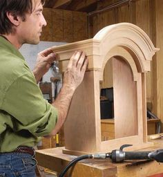 Country-Style Grandfather Clock By Tim Johnson For many of us, a grandfather clock is the ultimate project. Traditional high-style clocks often involve such advanced skills as spiral turning, veneering and figure carving, to say nothing of the cost of the figured wood. This country-style tall clock is much, much easier to build, while still being a grand, stately and impressive piece of furniture. The only tricky part is the top,with …