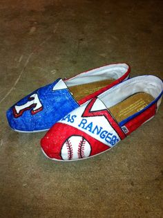 toms shoes Texas Rangers Toms Shoes by sbuch68 on Etsy, $88.00 share the best shoes