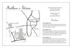 Wedding map directions wedding pinterest diy wedding wedding map directions wedding pinterest diy wedding invitations diy wedding and weddings solutioingenieria Image collections