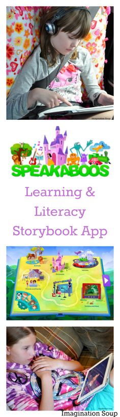 Speakaboos iPad app for literacy and learning