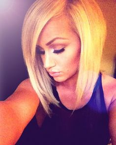 OMG this is the one I am going to do. I want to grow my hair out long! But this is sooo cute.